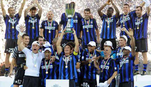 Чемпион Италии «Милан» со счетом 2-1 обыграл «Интер» в матче на Суперкубок страны