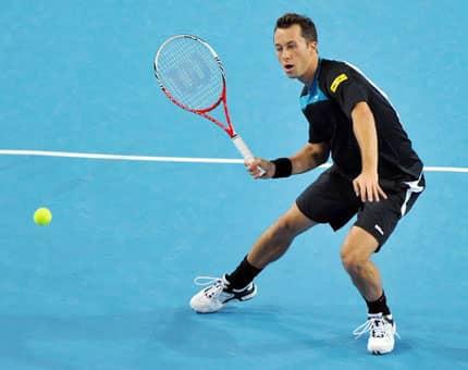 Немецкий теннисист разгромил игрока из России