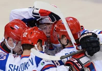 Сборная белорусов уступила США на ЧМ