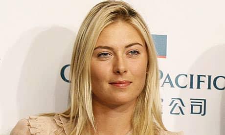Мария Шарапова признана лучшим деятелем спорта июня