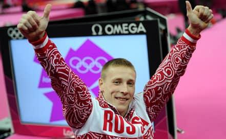 Денис Аблязин завоевал серебряную медаль в опорном прыжке