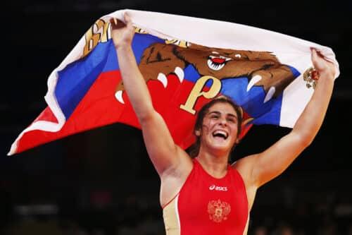 Наталья Воробьева пополнила копилку российской сборной «золотом»