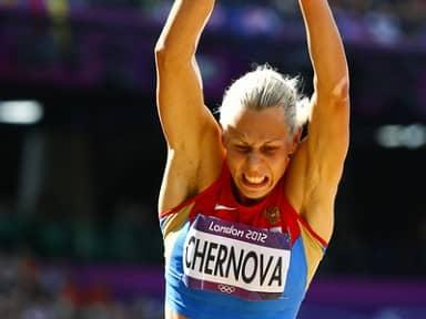 Татьяна Чернова завоевала бронзу с помощью брата