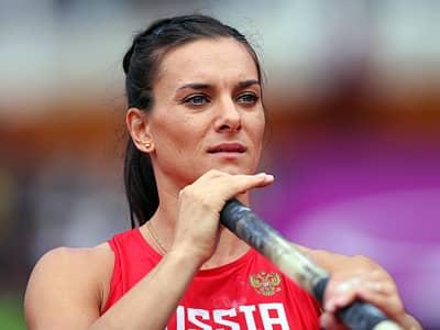 Елена Исинбаева не сумела завоевать золотую медаль