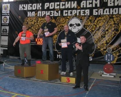 Призеры Кубка России по жиму лежа