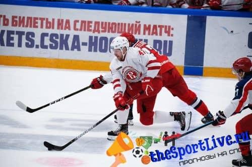 Прогноз на матч Витязь — ЦСКА — 27.12.2020, 17:00